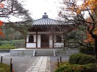 Asisbiz Rokuon ji Temple pagoda Buddha Kyoto Japan Nov 2009 01