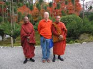 Asisbiz Rokuon ji Temple visiting Burmese monks Kyoto Japan Nov 2009 03