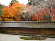 Asisbiz Ryoan ji Hojo Teien Karesansui Zen rock garden Kyoto Japan Nov 2009 01