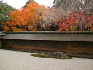 Asisbiz Ryoan ji Hojo Teien Karesansui Zen rock garden Kyoto Japan Nov 2009 02