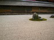 Asisbiz Ryoan ji Hojo Teien Karesansui Zen rock garden Kyoto Japan Nov 2009 03