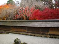 Asisbiz Ryoan ji Hojo Teien Karesansui Zen rock garden Kyoto Japan Nov 2009 07
