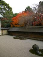 Asisbiz Ryoan ji Hojo Teien Karesansui Zen rock garden Kyoto Japan Nov 2009 10