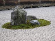 Asisbiz Ryoan ji Hojo Teien Karesansui Zen rock garden Kyoto Japan Nov 2009 15