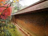 Asisbiz Ryoan ji Hojo Teien Karesansui outer wall Kyoto Japan Nov 2009 02