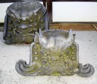Asisbiz Tenryu ji Sogenchi Tenryu iron masks Kyoto 2009 04