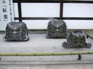 Asisbiz Tenryu ji Sogenchi Tenryu iron masks Kyoto 2009 07