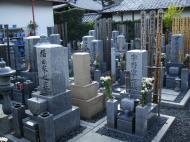Asisbiz Tenryu ji Sogenchi Tomb stones Kyoto 2009 01