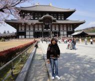 Asisbiz 1 Todai ji main walkway leading to grandiose Daibutsuden Nara Japan 02