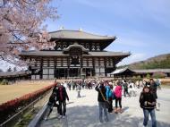 Asisbiz 1 Todai ji main walkway leading to grandiose Daibutsuden Nara Japan 05