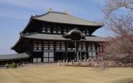 Asisbiz 1 Todaiji is grand in proportion largest wooden building and Buddha statue Japan 02