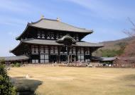 Asisbiz 1 Todaiji is grand in proportion largest wooden building and Buddha statue Japan 09