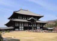 Asisbiz 1 Todaiji is grand in proportion largest wooden building and Buddha statue Japan 10