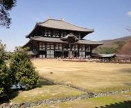 Asisbiz 1 Todaiji is grand in proportion largest wooden building and Buddha statue Japan 14