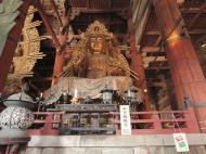 Asisbiz 3 Daibutsu Buddha Vairocana right side Bodisattvas Nara Japan 01