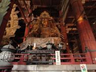 Asisbiz 3 Daibutsu Buddha Vairocana right side Bodisattvas Nara Japan 02