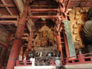 Asisbiz 3 Daibutsu Buddha Vairocana right side Bodisattvas Nara Japan 04