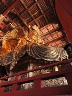 Asisbiz 3 Daibutsu Buddha Vairocana right side Bodisattvas side view Nara 01