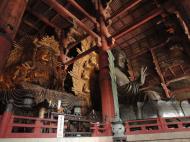 Asisbiz 3 Daibutsu Buddha Vairocana right side Bodisattvas side view Nara 02