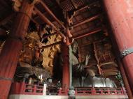 Asisbiz 3 Daibutsu Buddha Vairocana right side Bodisattvas side view Nara 03