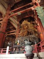 Asisbiz 3 Daibutsu Buddha Vairocana right side Bodisattvas side view Nara 04