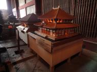 Asisbiz 3 Daibutsu Great Buddha hall small models depicting the architecture Nara Japan 01