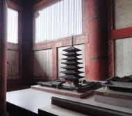 Asisbiz 3 Daibutsu Great Buddha hall small models depicting the architecture Nara Japan 02
