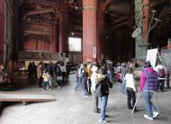 Asisbiz 3 Todai ji Daibutsu Great Buddha hall architecture wooden pillars Nara Japan 01