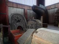 Asisbiz 3 Todai ji Daibutsu Great Buddha hall old bronze and wooden fixtures 01
