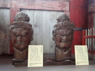 Asisbiz 3 Todai ji Daibutsu Great Buddha hall wooden statues Nara Japan 02