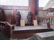 Asisbiz 3 Todai ji Daibutsu Great Buddha hall wooden statues Nara Japan 05