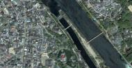 Asisbiz 0 Satelite image showing the walk from Byodoin temple to Ujigami shrine 01