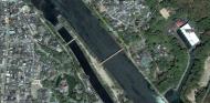 Asisbiz 0 Satelite image showing the walk from Byodoin temple to Ujigami shrine 02