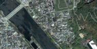 Asisbiz 0 Satelite image showing the walk from Byodoin temple to Ujigami shrine 03