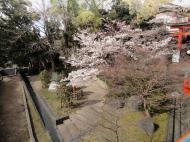 Asisbiz Walk to Ujigami shrine across the small bridge looking along the shore line 01