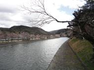 Walking from Byodoin temple to Ujigami shrine across the small Island 01