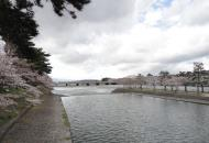 Walking from Byodoin temple to Ujigami shrine across the small Island 02