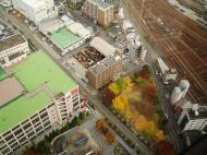 Asisbiz Japan Post Bldg viewed from Umeda Sky Bldg Osaka Nov 2009 06
