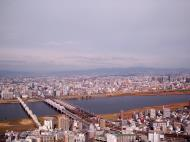 Asisbiz NTT Bridge and Juso Bridge Osaka Japan Nov 2009 04