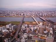 Asisbiz NTT Bridge and Juso Bridge Osaka Japan Nov 2009 06