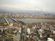 Asisbiz NTT Bridge and Juso Bridge Osaka Japan Nov 2009 07