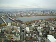 Asisbiz NTT Bridge and Juso Bridge Osaka Japan Nov 2009 08