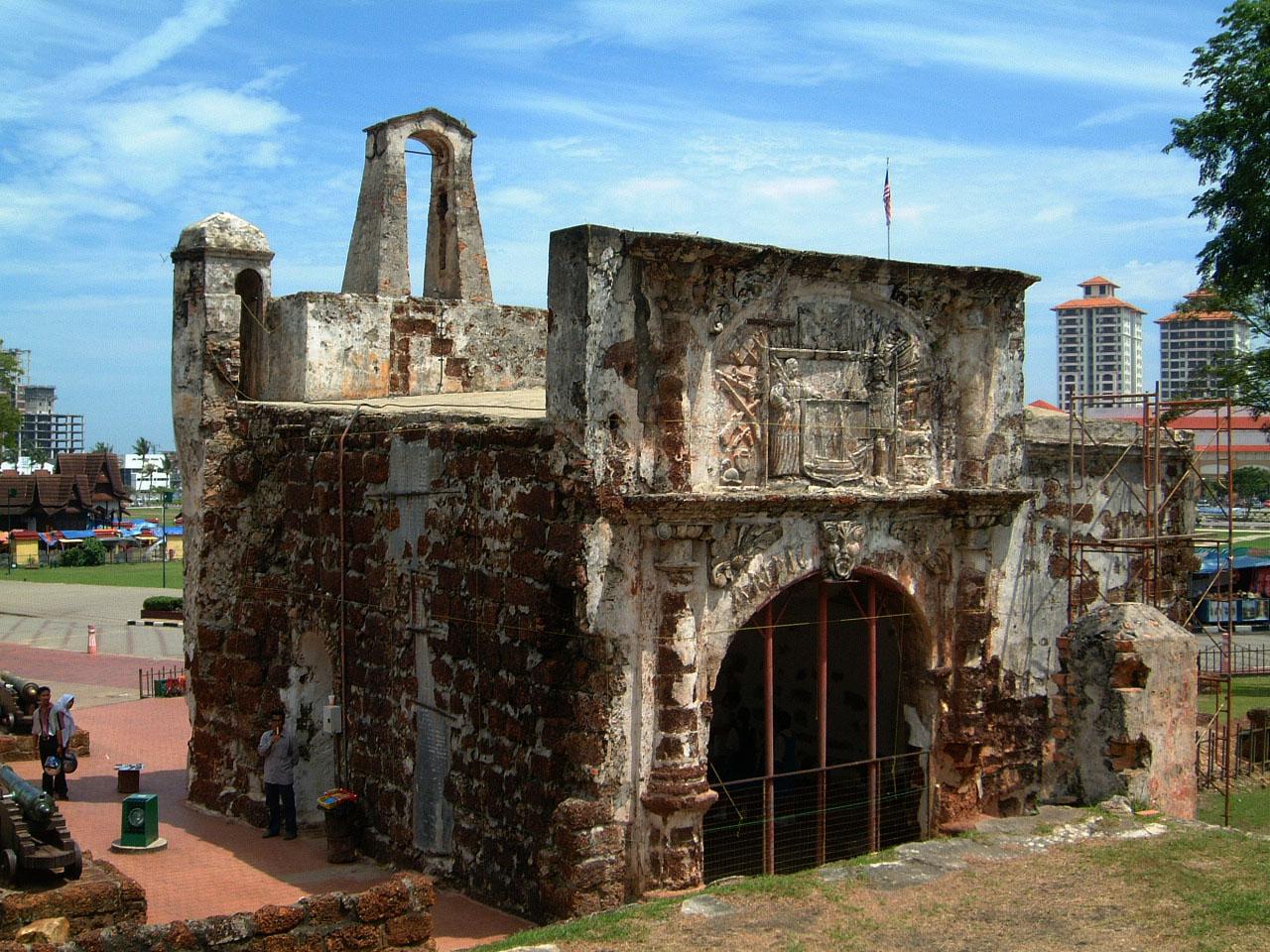 Asisbiz Stock Photos Of Albuquerque S Fortress A Famosa