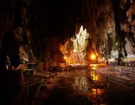 Selangor Sri Subramaniam Kovil limestone caves Batu Caves Malaysia Dec 2011 01