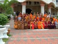 Asisbiz Venerable Dr K Sri Dhammananda Nayaka Maha Thera 82 Birthday Mar 2001 07