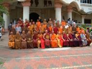 Asisbiz Venerable Dr K Sri Dhammananda Nayaka Maha Thera 82 Birthday Mar 2001 08