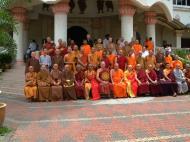 Asisbiz Venerable Dr K Sri Dhammananda Nayaka Maha Thera 82 Birthday Mar 2001 09