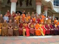 Asisbiz Venerable Dr K Sri Dhammananda Nayaka Maha Thera 82 Birthday Mar 2001 10