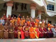 Asisbiz Venerable Dr K Sri Dhammananda Nayaka Maha Thera 82 Birthday Mar 2001 11