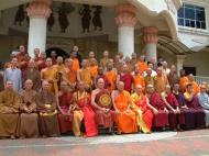 Asisbiz Venerable Dr K Sri Dhammananda Nayaka Maha Thera 82 Birthday Mar 2001 14